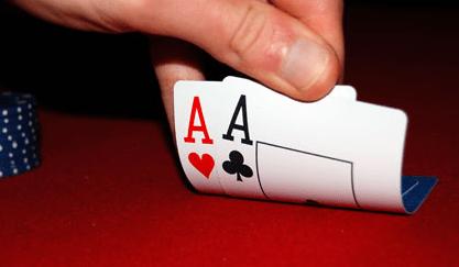 Carte iniziali Texas Holdem