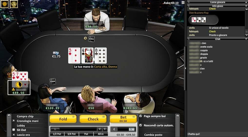 Poker la bwin
