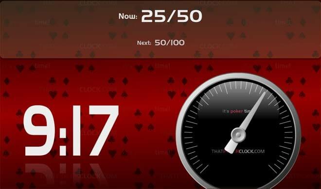 Poker clock free mac
