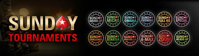 PokerStars Sunday Tournaments
