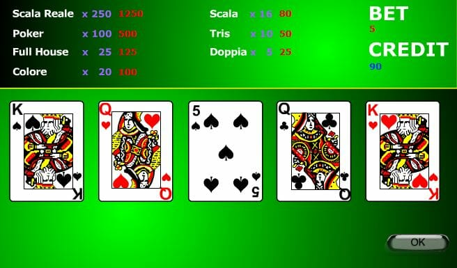 video poker on line gratis